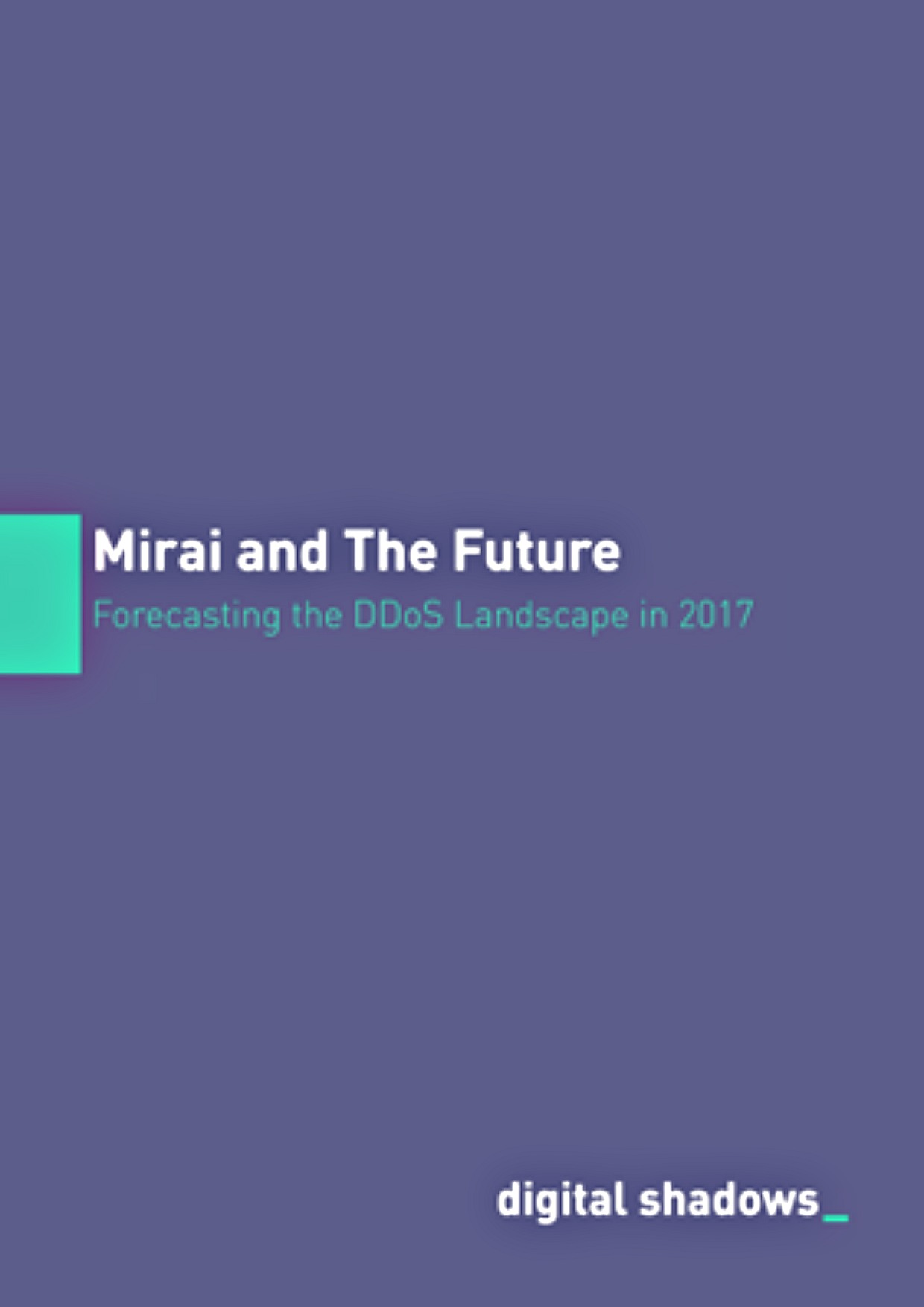 Mirai and the Future cover page