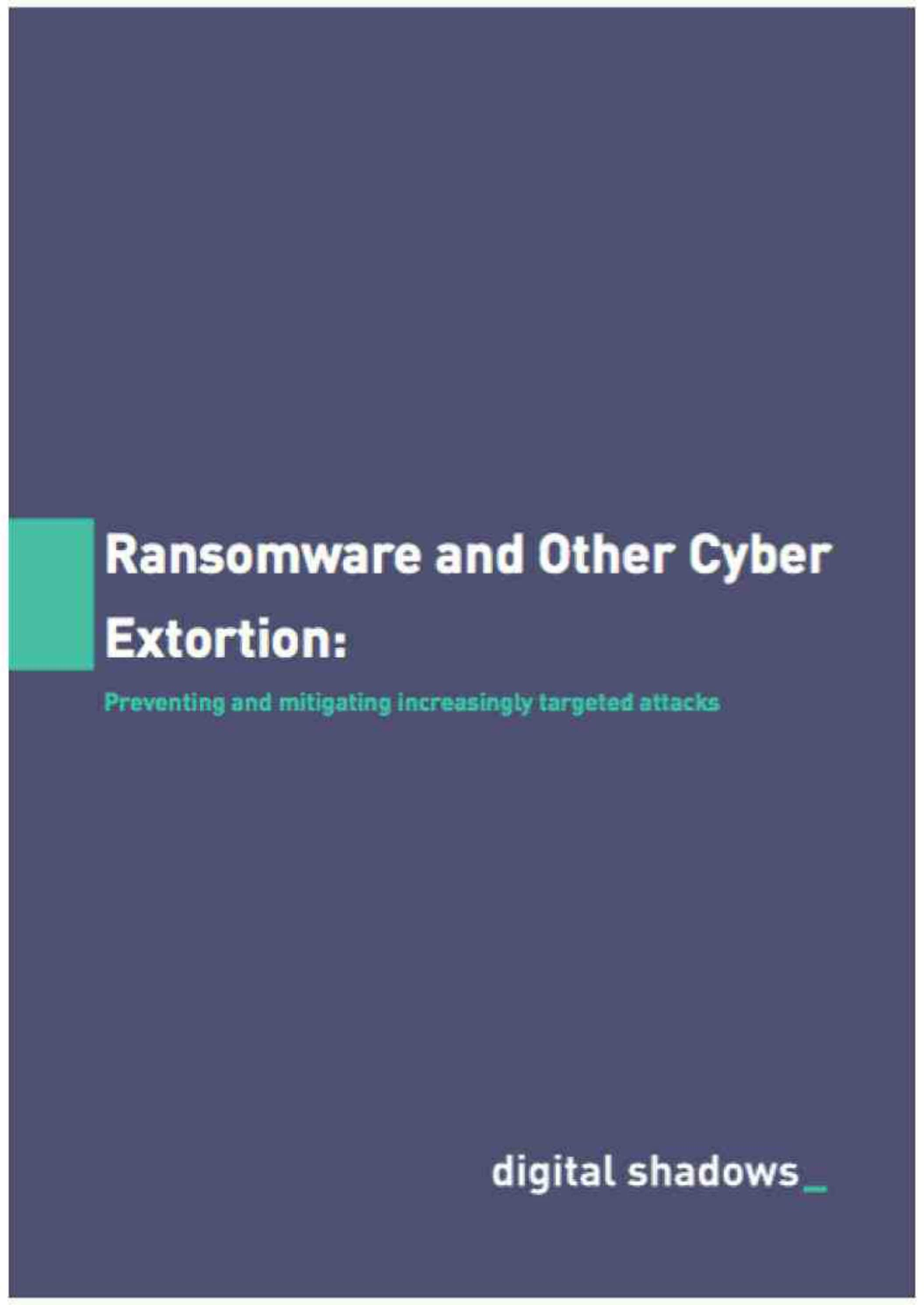 Ransomware and Cyber Extortion min