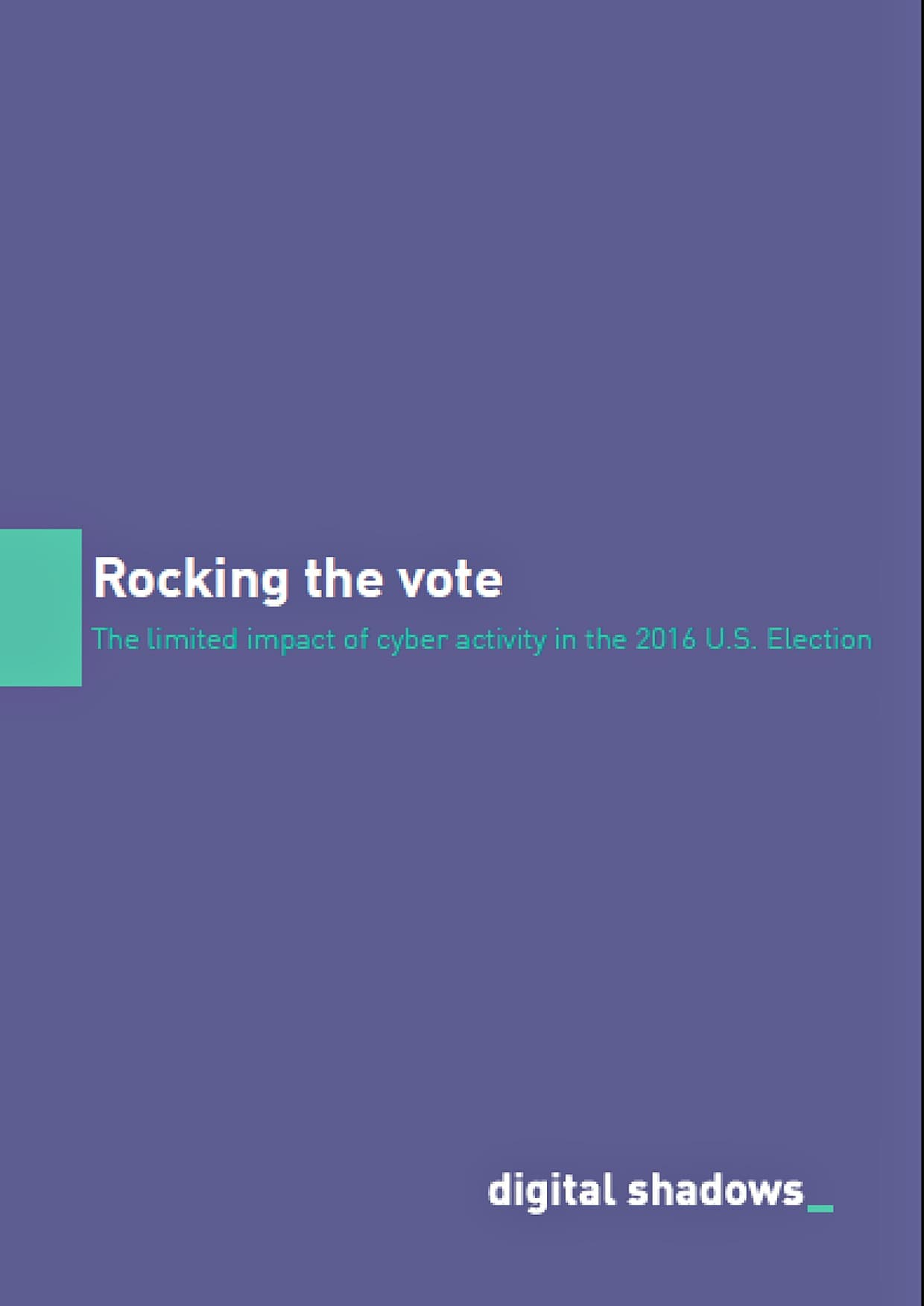 Rocking the Vote cover page min