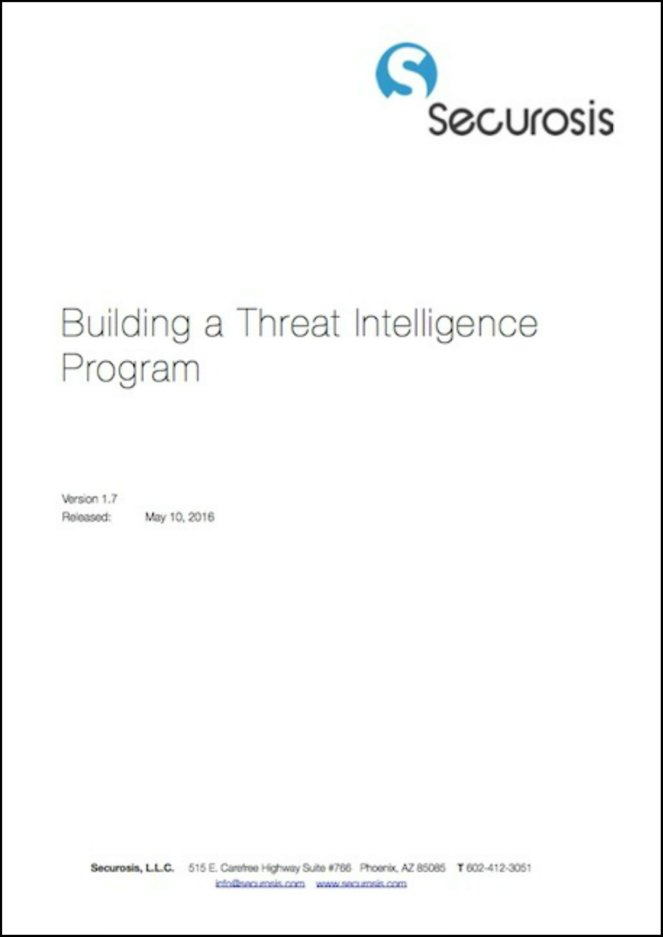 Securosis Building a Threat Intelligence Program min