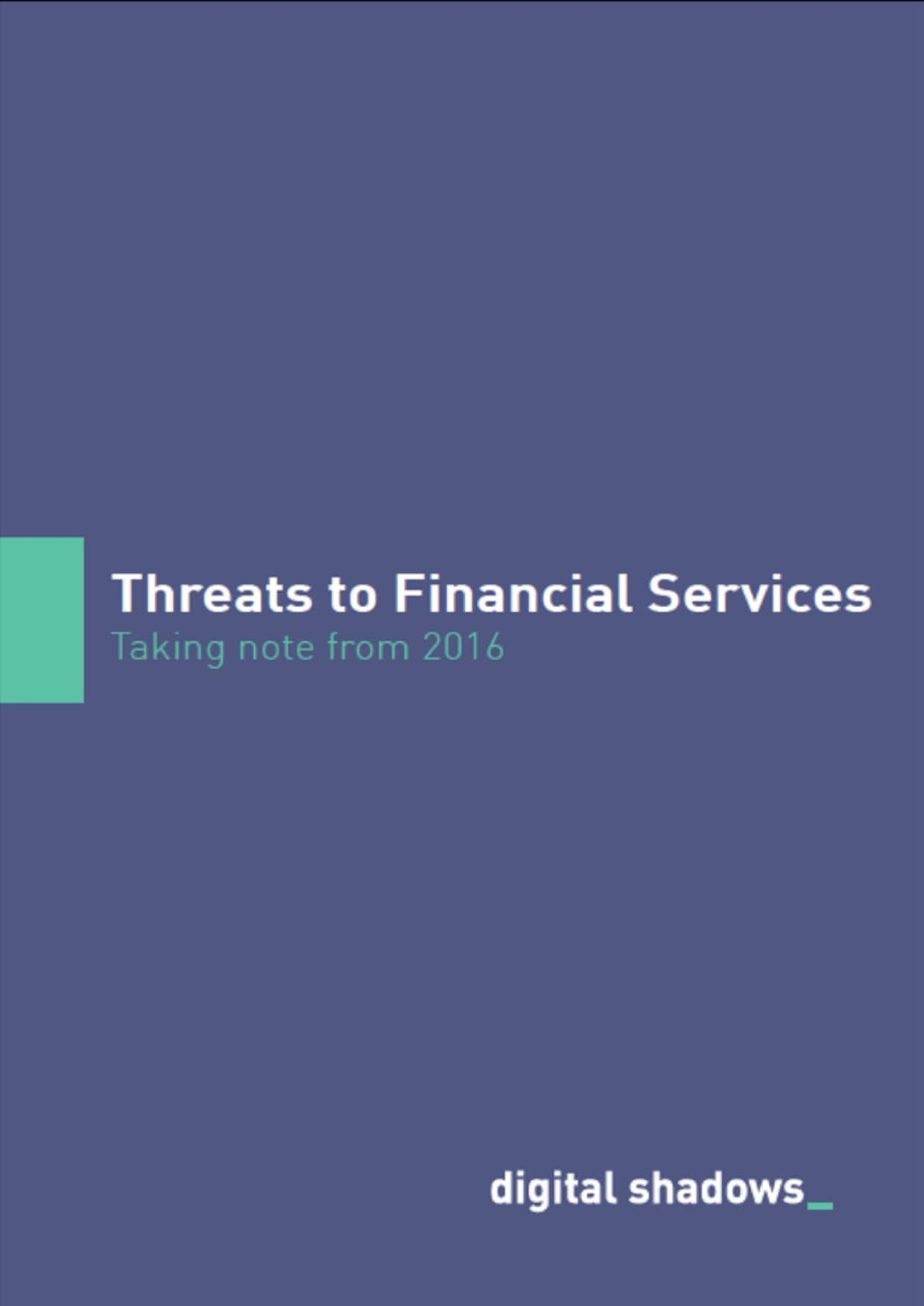 cover image Threats to Financial Services min